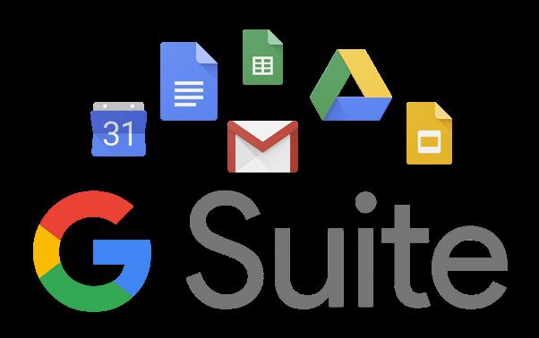 معرفی سرویس های ایمیل G-suite