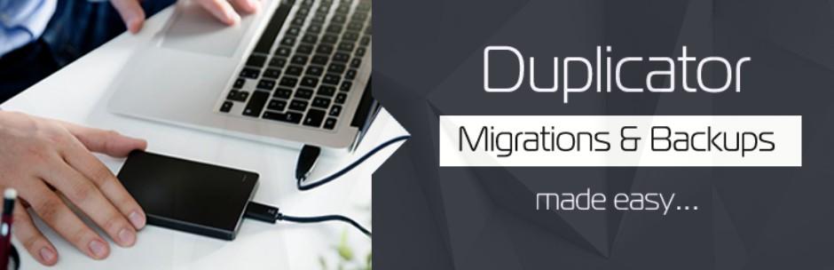 پلاگین برای انتقال سایت های وردپرسی duplicator