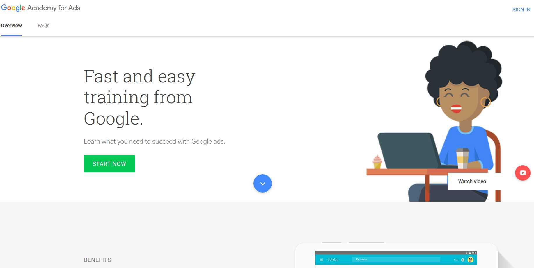 راهنمای گام به گام مدرک گوگل ادوردز